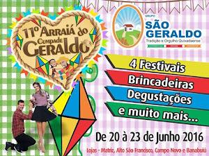 ARRAIÁ DO CUMPADE SÃO GERALDO