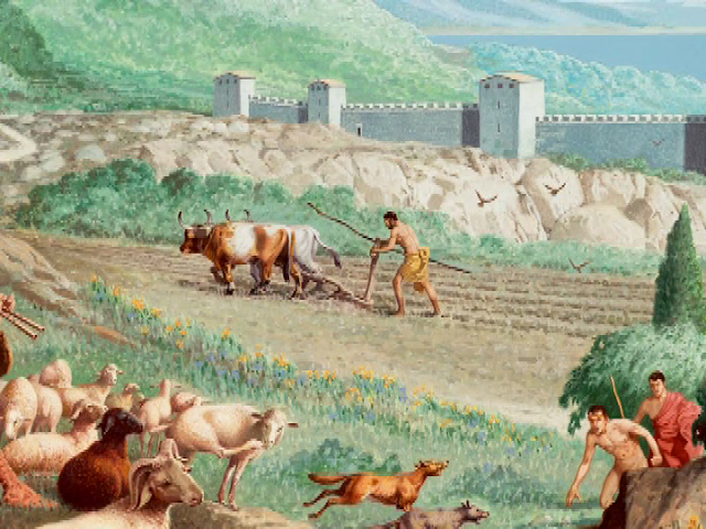 Ancient Greek Agriculture