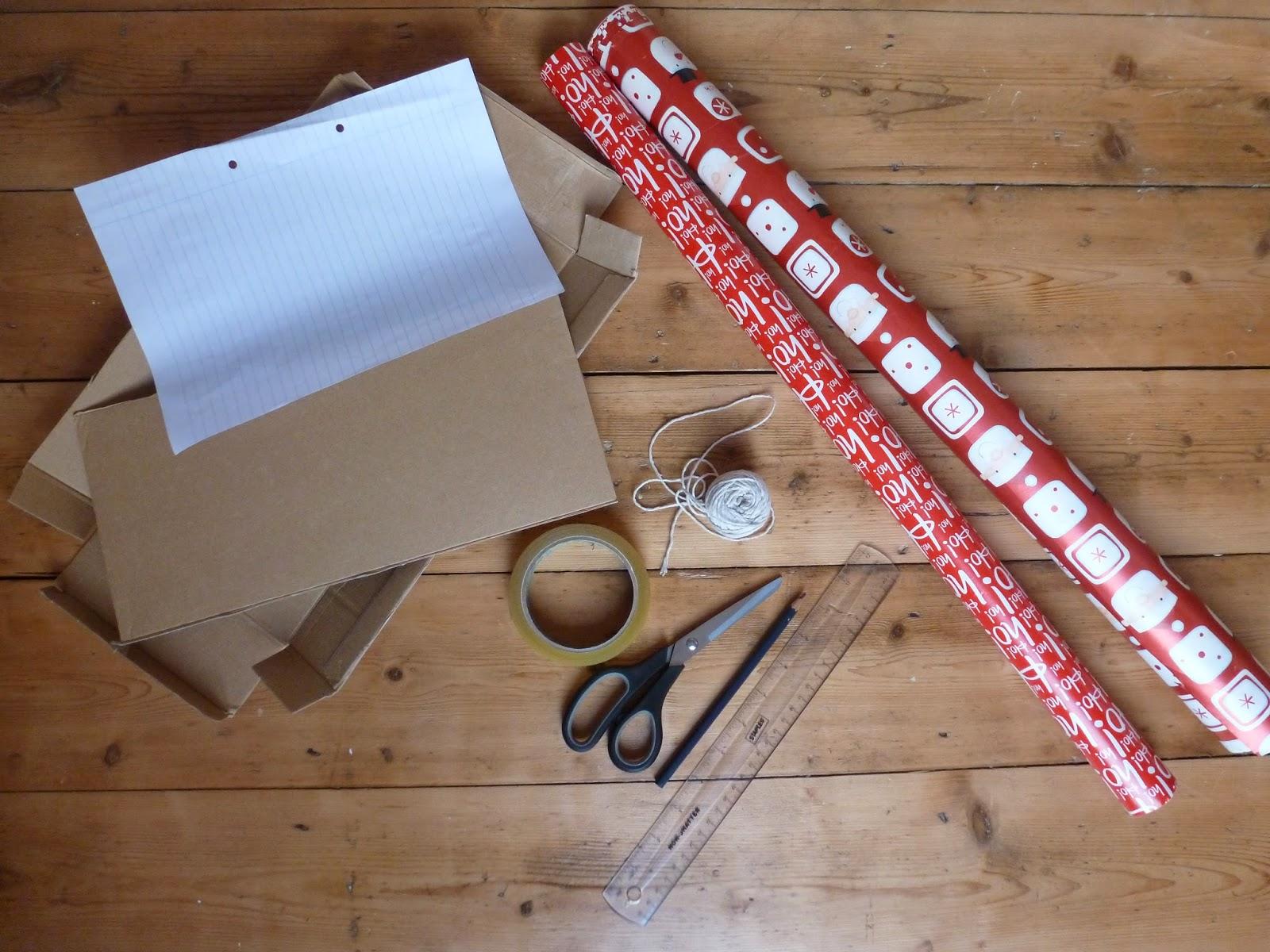 DIY easy christmas bunting