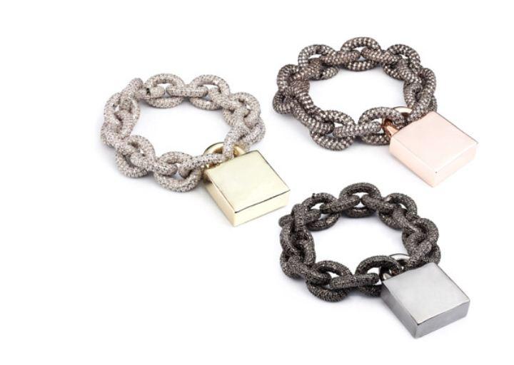 bromeliad eddie borgo padlock jewelry inspiration