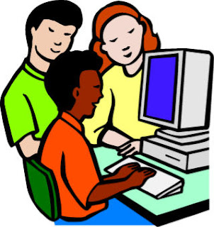 Children learning technology