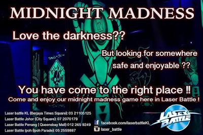 laser tag midnight madness