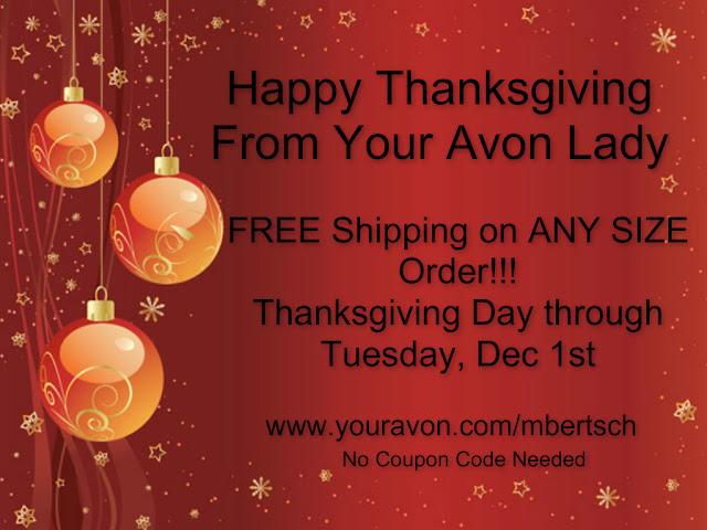 Avon Thanksgiving Coupons