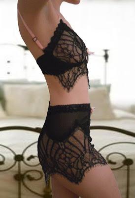 Vixen Bralette & mesh shorts by Frances Smily