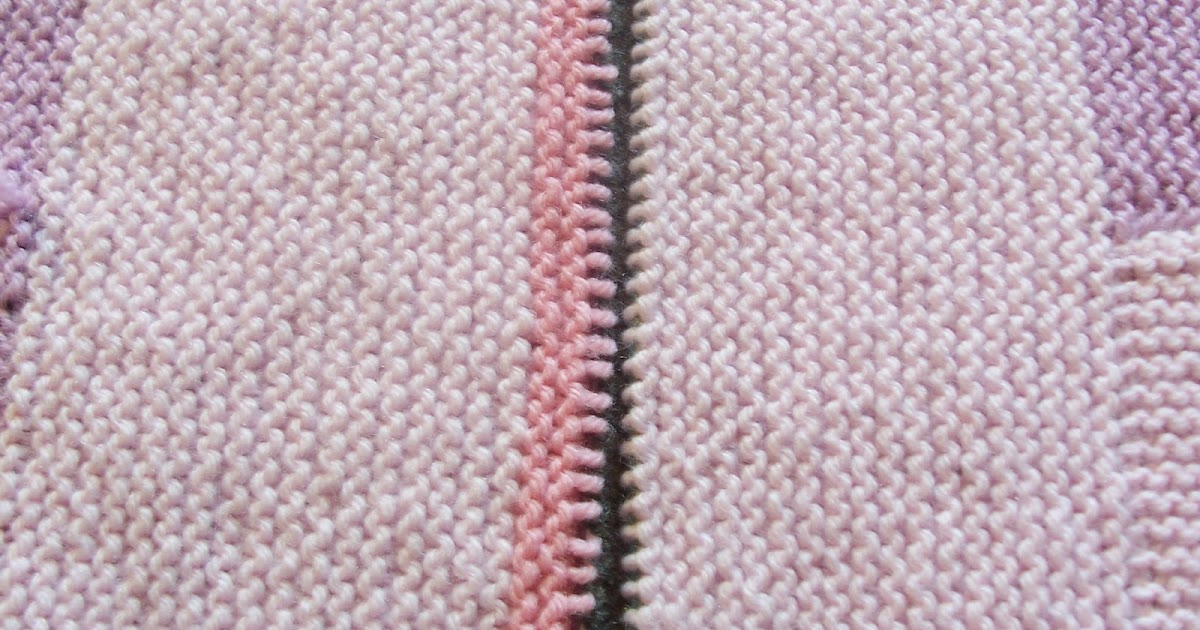 Knitting Grafting Garter Stitch : Life gets in the way of my knitting grafting garter stitch