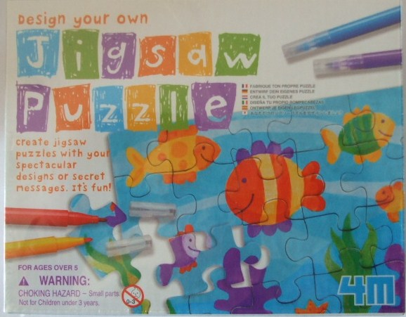 madhouse family reviews 4m design your own jigsaw puzzle review