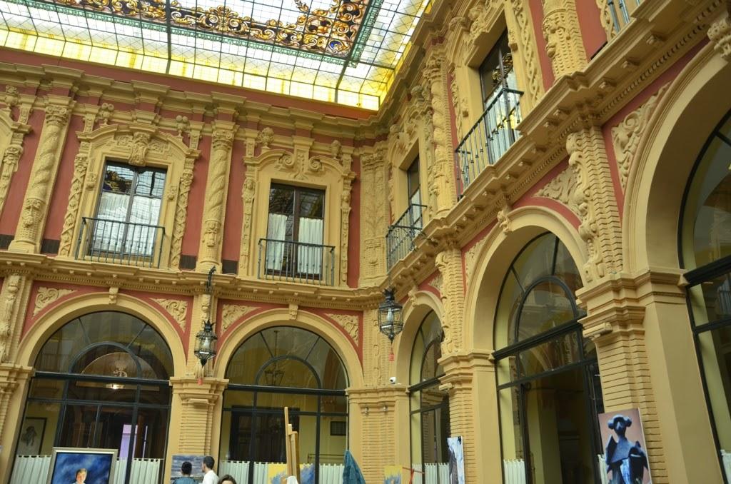Patio Círculo Labradores - Sevilla