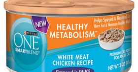 Purina One Wet Cat Food In Tin