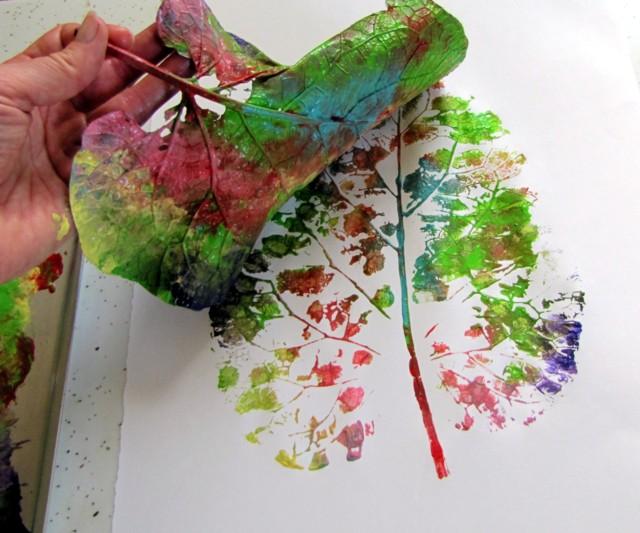 Ideas de otoño: diseños con hojas secas | La salamandra azul | DIY ...