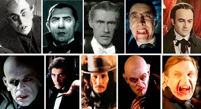 Max Schreck, Bela Lugosi, John Carradini, Christopher Lee, Paul Naschy, Klaus Kinski, Frank Languella, Gary Oldman, Willem Dafoe y Thomas Kretschmann.