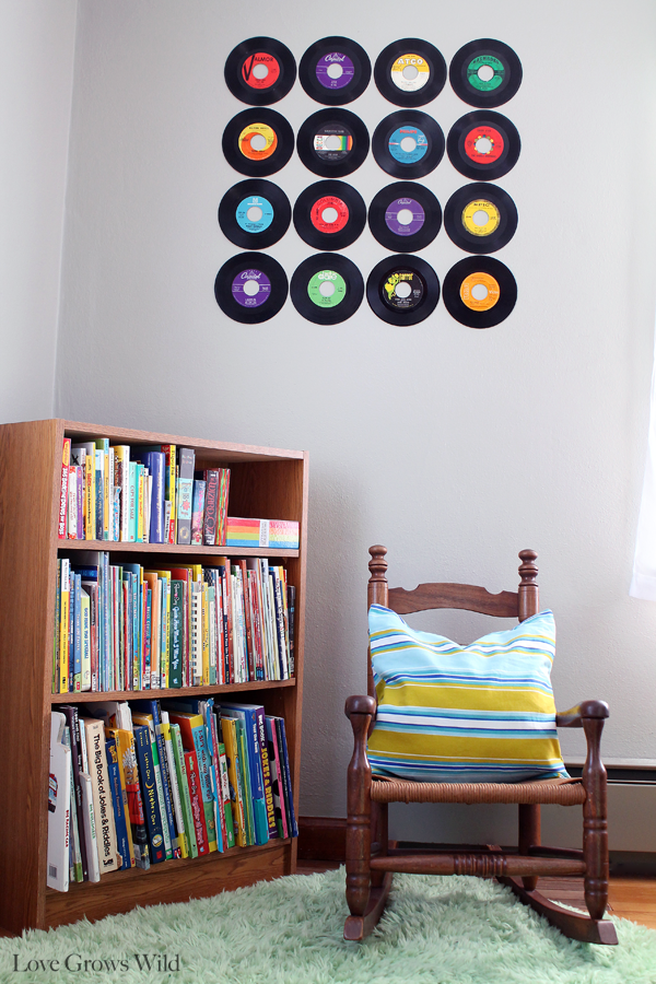 How To Create A Record Wall Love Grows Wild