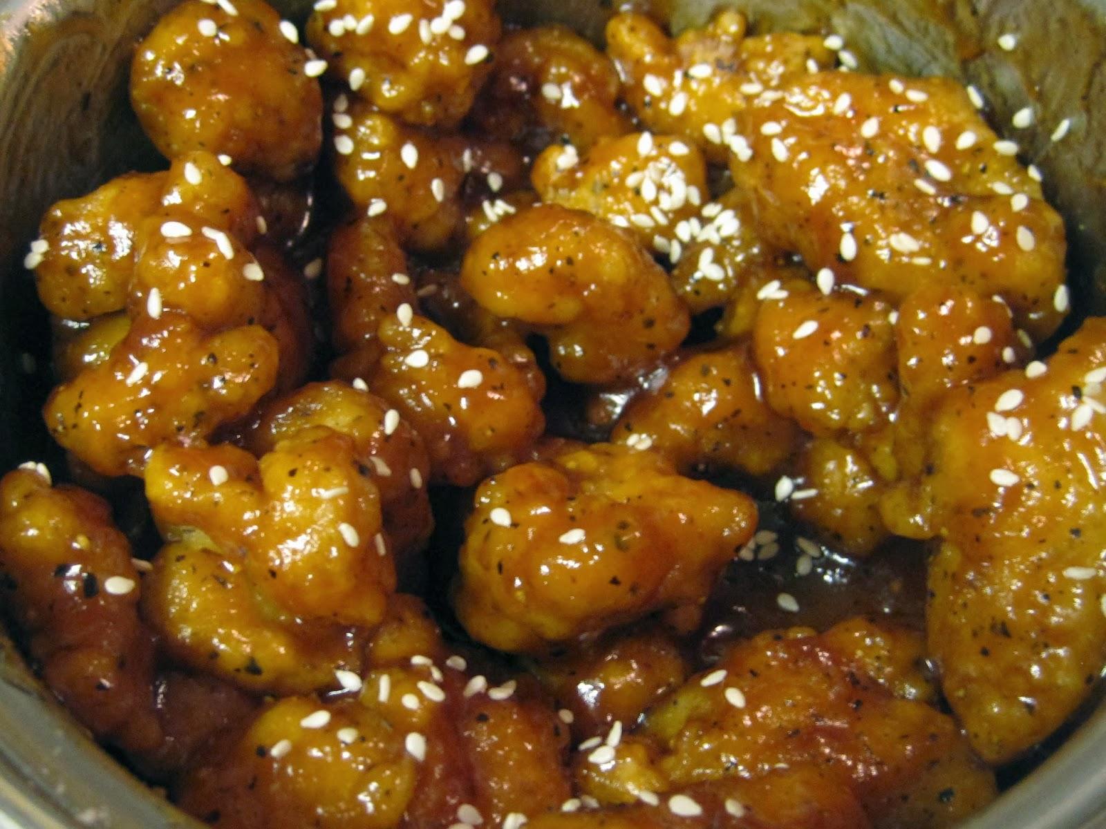 Great Tastes Tuesdays!: Sticky Sesame Orange Chicken