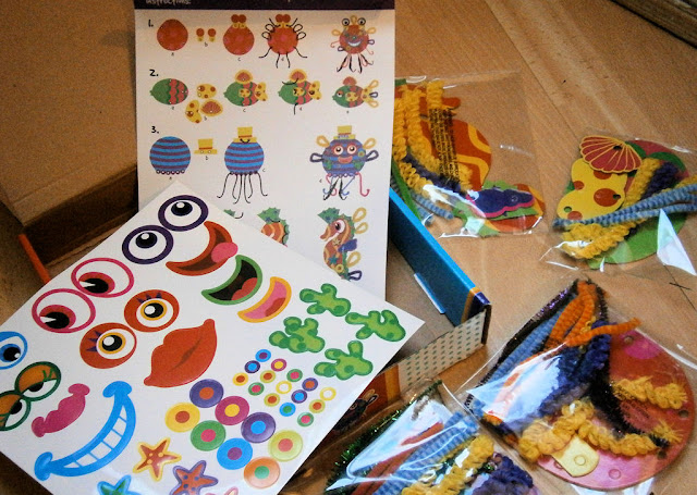 grafix art kit contents make your own sea creature