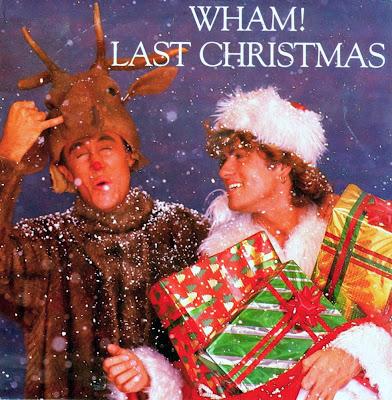 Portada del single Last Christmas de Wham