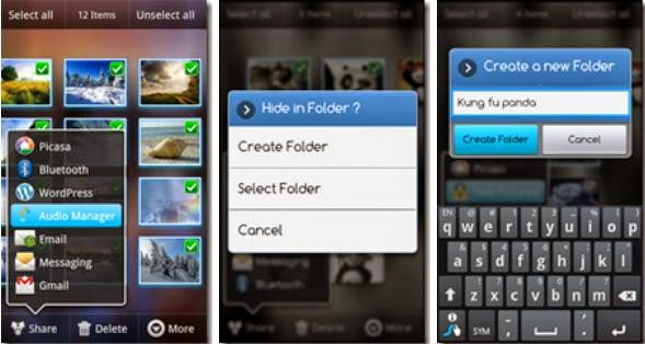 Folder hider App For Android