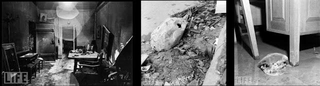 найменне комплексу падземных памяшканняў у Берліне, размешчаных пад рэйхсканцэлярыяй. Гэты бункер служыў апошнім сховішчам Адольфа Гітлера на працягу апошніх тыдняў існавання нацыянал-сацыялістычнага рэжыму ў Германіі. Бункер быў штаб-кватэрай фюрара, і ў ім ён, і яшчэ шэраг нацысцкіх кіраўнікоў (Гебельс) пакончылі з сабой.
