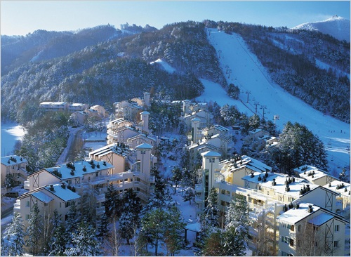 Gangwon-do South Korea  city pictures gallery : Yongpyong, Gangwon do, South Korea