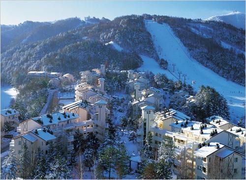 Gangwon-do South Korea  City pictures : Yongpyong, Gangwon do, South Korea