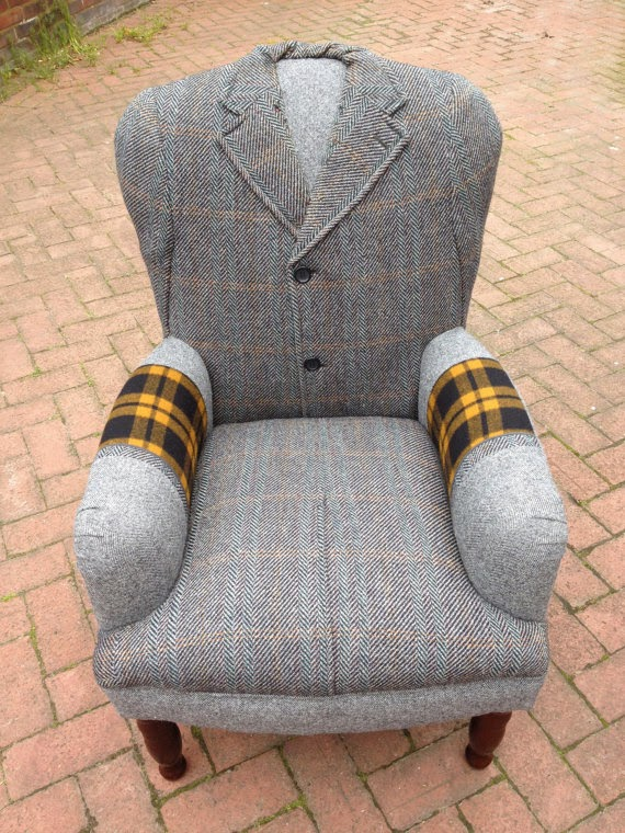 07-Dunn-&-Co-Crombie-Tweed-Overcoat-RescuedRetroVintage-Upcycled-Vintage-Armchairs-&-Chairs-www-designstack-co
