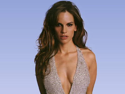American Actress Hilary Swank Wallpaper