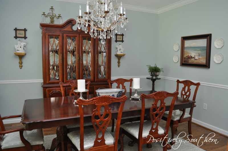 positively southern: the dining room updated