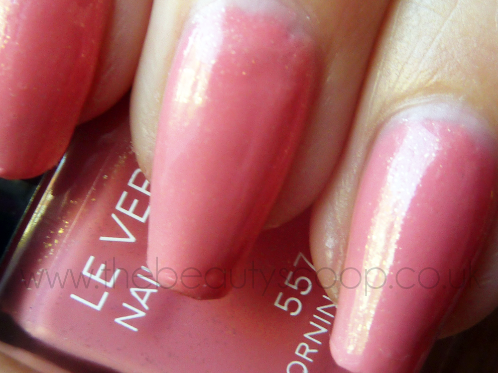 The Beauty Scoop!: NOTD Chanel Morning Rose (557) Nail Polish ...
