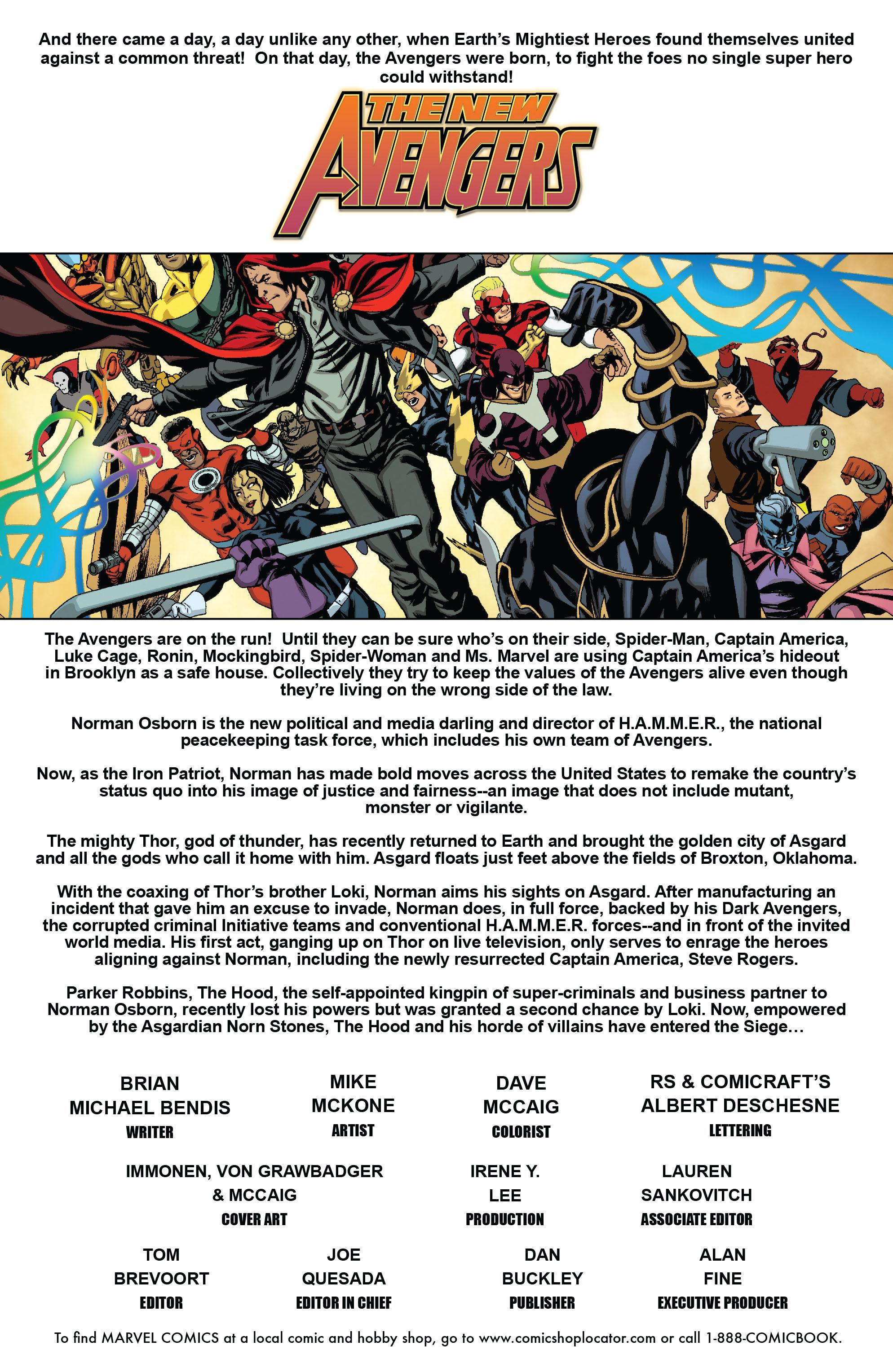 New Avengers (2005) chap 64 pic 2