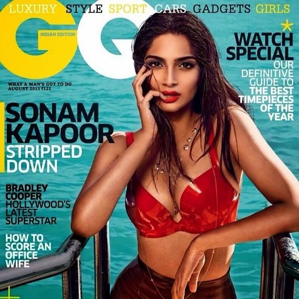 Sonam Kapoor Maxim Cover