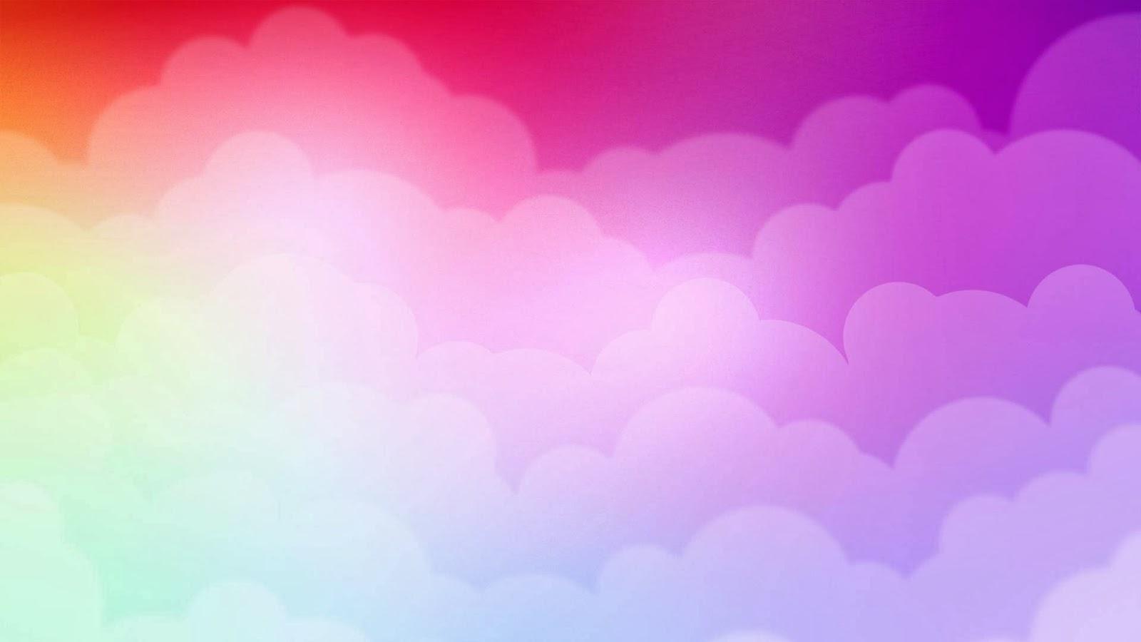 Fondo de pantalla abstracto nubes de colores imagenes for Imagenes hd para fondo