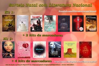 SORTEIO: Natal com Literatura Nacional!!