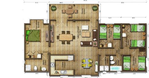 Dise os de casas planos gratis planos de casas gratis 119 m2 for Planos de construccion de casas gratis
