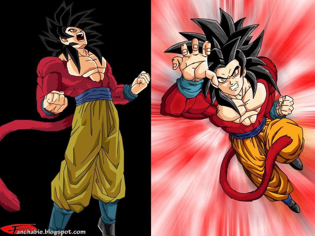 Best Wallpaper: Goku Super Saiyan 4 Wallpaper Desktop HD ...