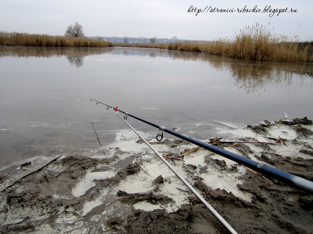 рыбалка зимой по открытой воде