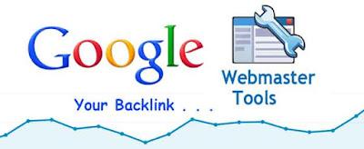Mengetahui jumlah backlink dengan webmaster tools