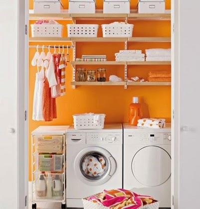 Ordena y decora tu lavadero