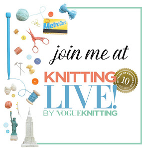 Teaching at Vogue Knitting Live NYC!