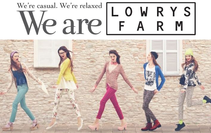 It's Lowry's Farm 1st Anniversary and they are going to share their