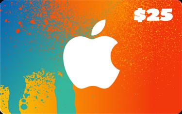 Apple - $25 Itunes Gift Card