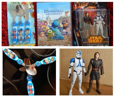Easter, Disney, Star Wars, Asda, Monsters University, DVD, Cutlery, Toys, Gifts, Review, Yorkshire Blog, Mummy Blogging, Parent Blog,