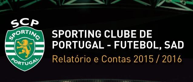 Relatório & Contas Sporting SAD