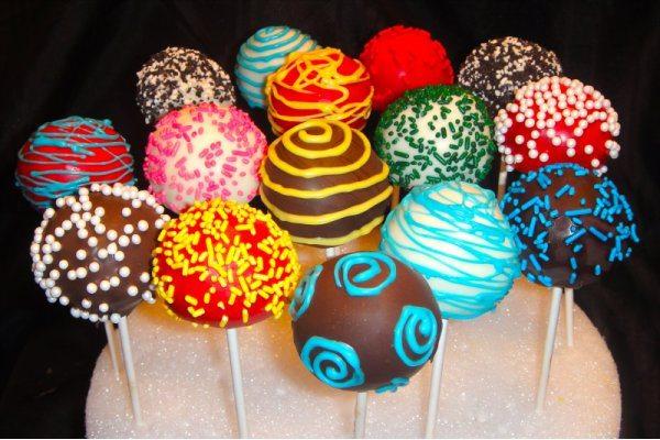 Receta De Cake Pops Horneadas