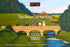 Return of the King: An Exhibition by Bacolod-based artist Roderick Tijing
