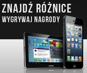 Wygraj Samsung Galaxy, iPhone, PS3, bilety do kina