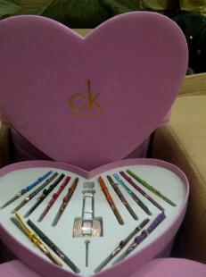 JUAL Jam Tangan Calvin Klein Love Paket 15 tali