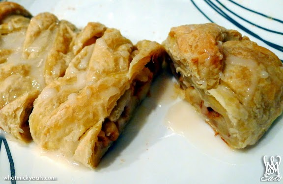 What Micky Eats...: At Home: Apple Cinnamon Strudel