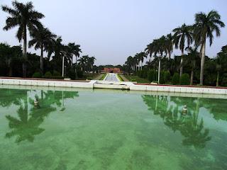 Trees at Jal Mahal, Pinzore Garden, Haryana