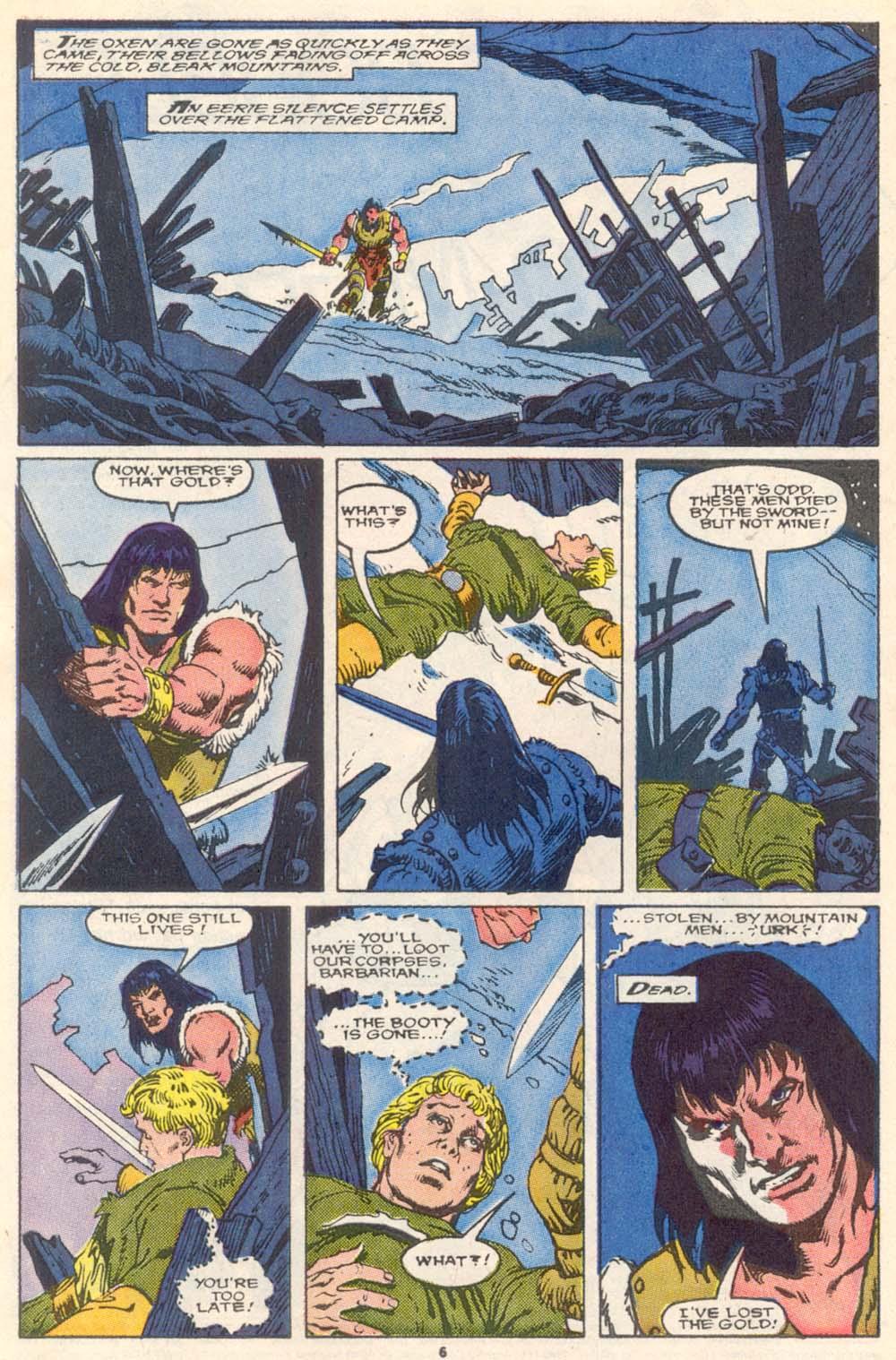 Conan the Barbarian (1970) Issue #220 #232 - English 7