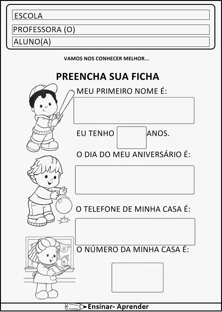 ATIVIDADES DE MATEMÁTICA PARA O 1º ANO - ALFABETIZAÇÃO