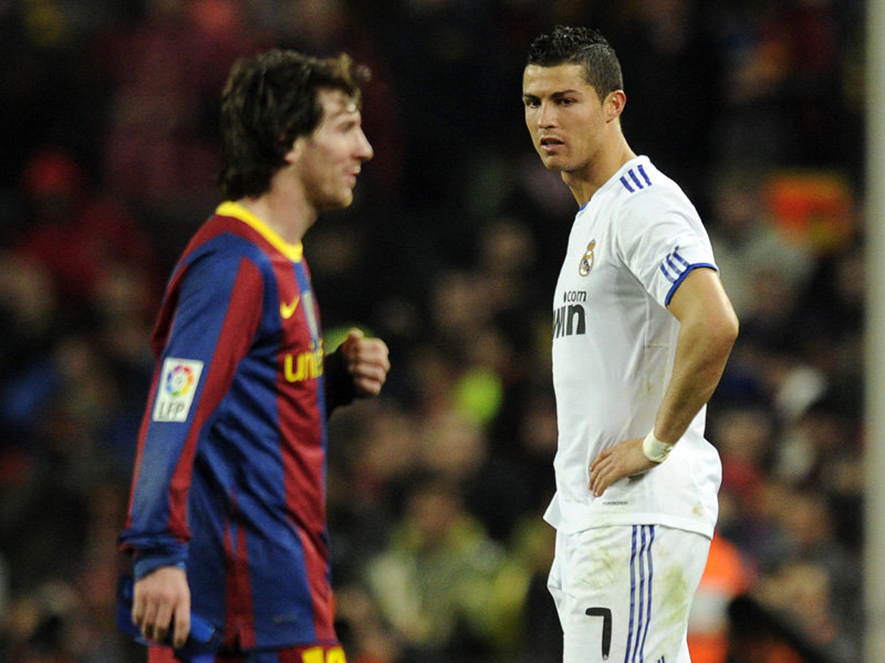 Tell the missus Saturday night's sorted: It's Messi v Ronaldo. One day ...