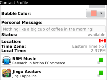 bbm blackberry massenger terbaru